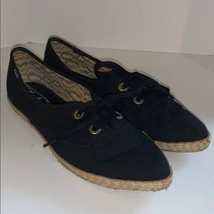 90's  pointed canvas vintage Keds woman's 9